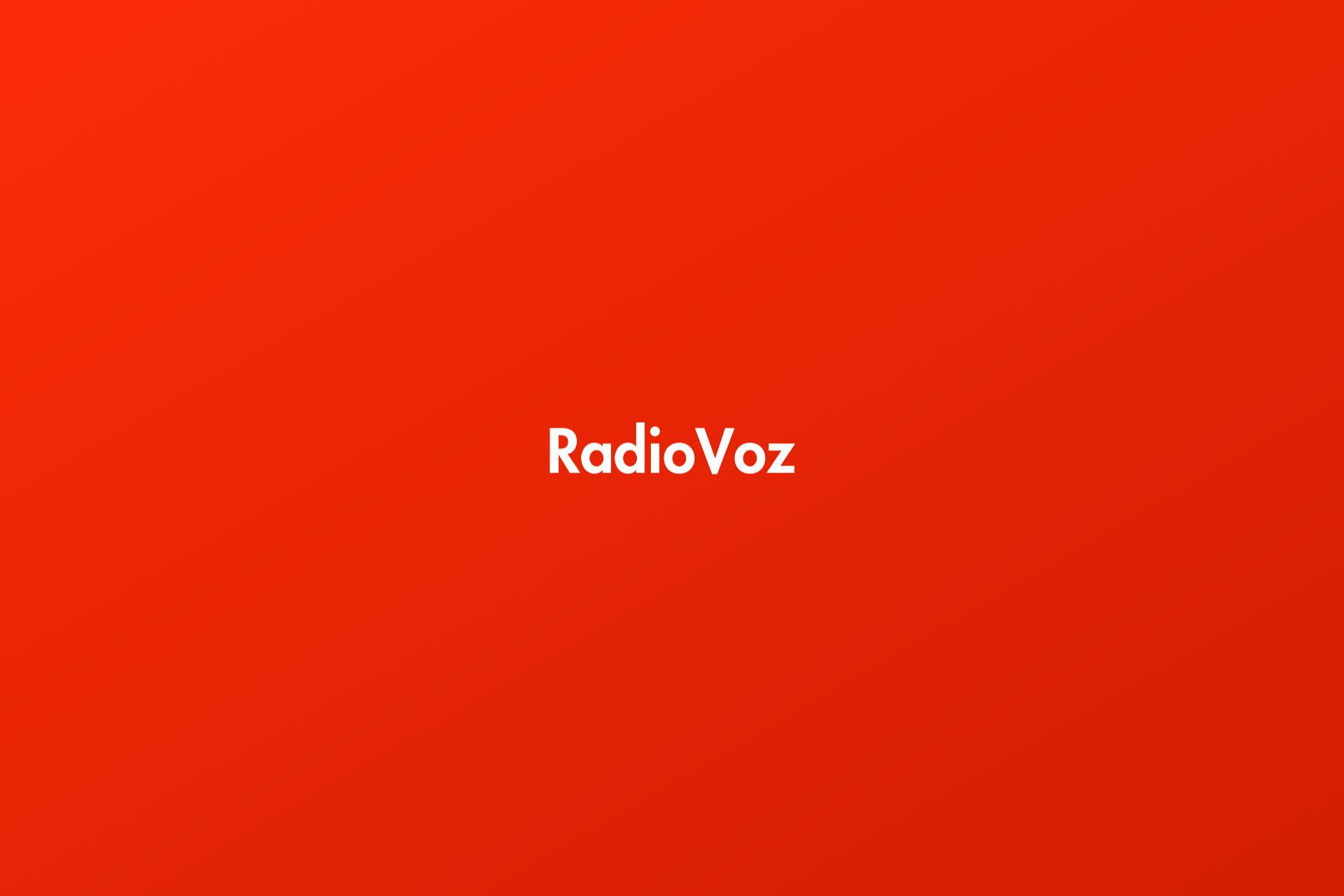 Portada Entrevista RadioVoz
