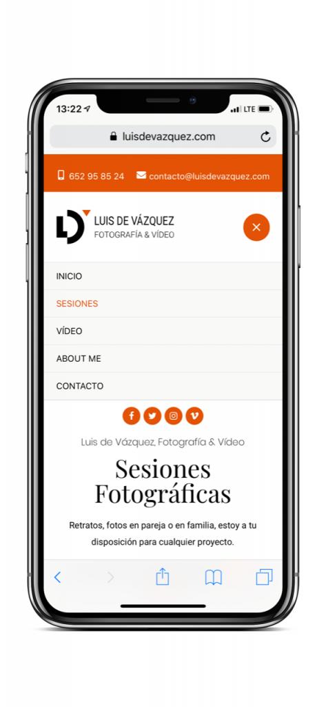 Nueva web Luis de Vázquez Ejemplo 3