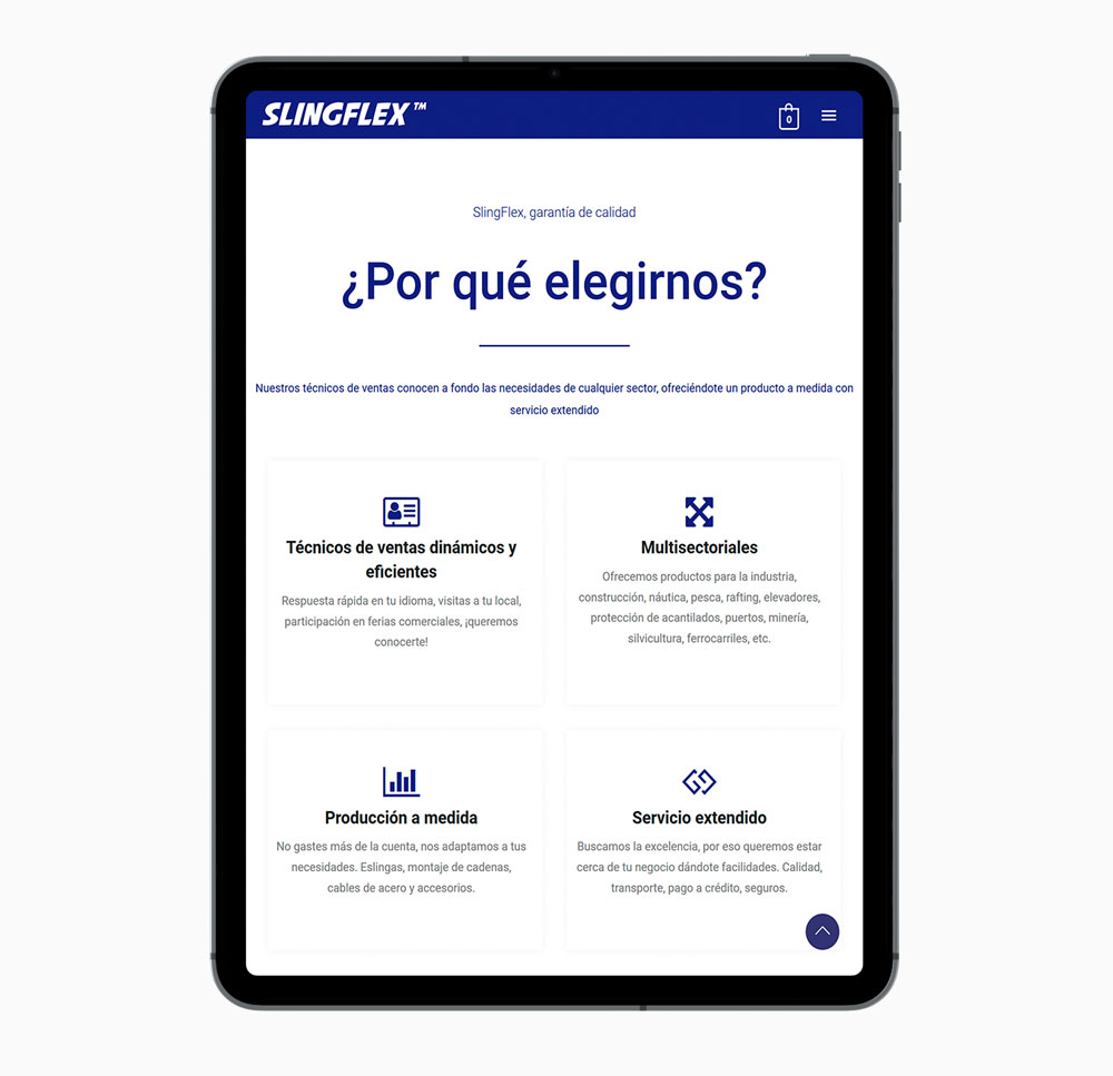 Slingflex iPad
