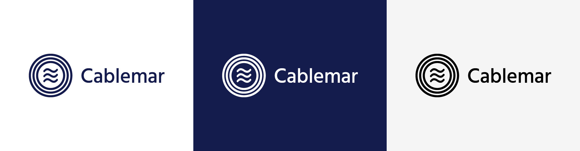 Logo Cablemar Espacios de color