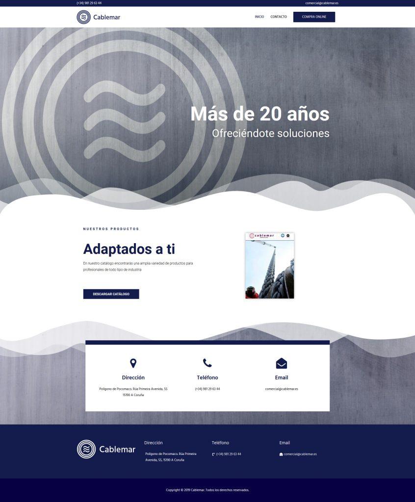 Cablemar Mockup Web